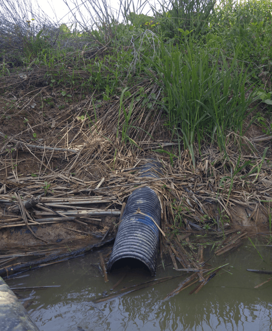 tile drain pipe